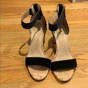 Aerosole block heel